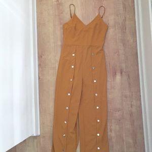 Pants - yellow jumpsuit